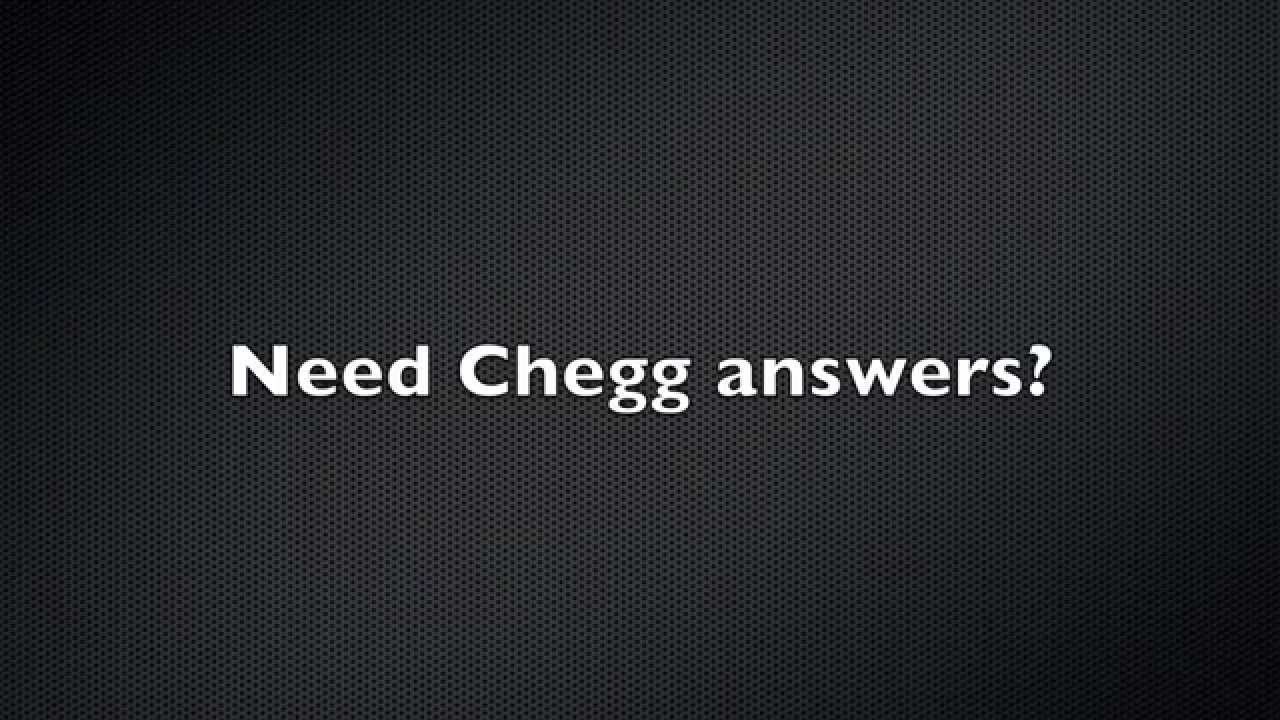 how to see chegg answers free